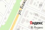 Схема проезда до компании Арки от Элефант в Челябинске