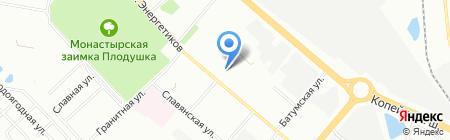 Отделение врачей общей практики на карте Челябинска