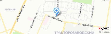 Средняя общеобразовательная школа №81 на карте Челябинска