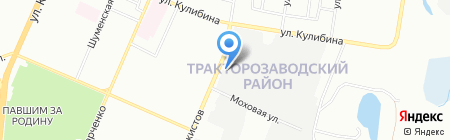 Ориентир на карте Челябинска