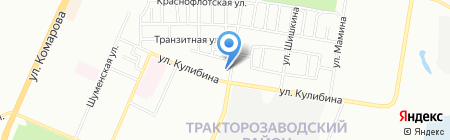 Аптека на карте Челябинска