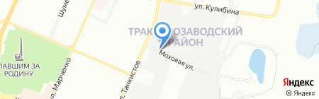 Сервис-Торг на карте Челябинска