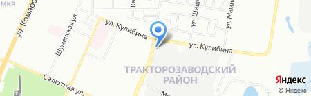 ЮжУралРыба на карте Челябинска