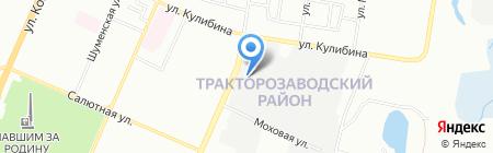 Дракон-Сервис на карте Челябинска