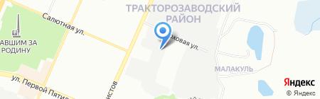 КРАТЕР на карте Челябинска