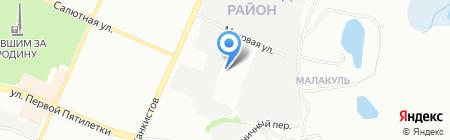 Магазин строительных материалов на карте Челябинска