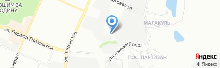 ND-fasad на карте Челябинска