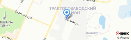 IVT-Челябинск на карте Челябинска