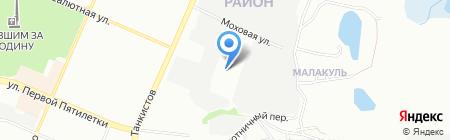 Profff на карте Челябинска