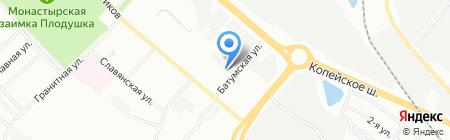 Фамилия на карте Челябинска