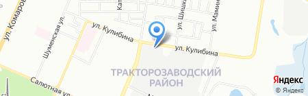 Артмакс на карте Челябинска