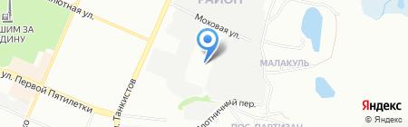 Мастер на карте Челябинска