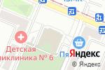 Схема проезда до компании Сытный курс в Челябинске