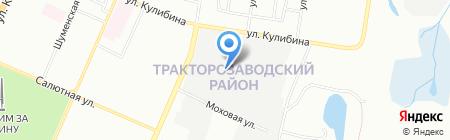 Уралремдеталь на карте Челябинска