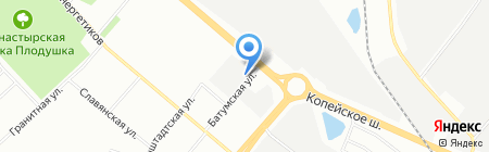 Scuderia на карте Челябинска