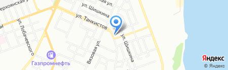 Авто3м на карте Челябинска