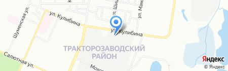 АвтоГАЗмастеР на карте Челябинска