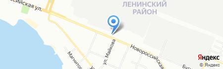 Южуралстройсервис на карте Челябинска