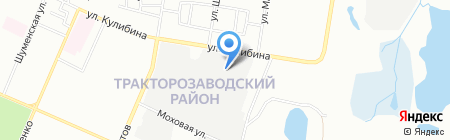 Интерполис на карте Челябинска