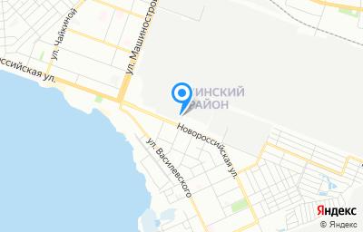 Местоположение на карте пункта техосмотра по адресу г Челябинск, ул Новороссийская, д 42Б