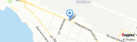 Мясная витрина на карте Челябинска