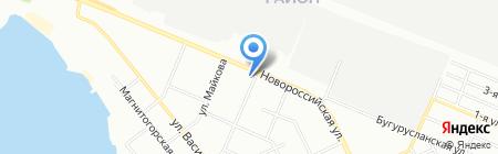 Ксения на карте Челябинска