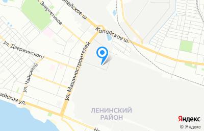 Местоположение на карте пункта техосмотра по адресу г Челябинск, ул Нахимова, д 8П