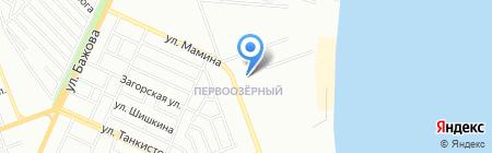 Евросеть на карте Челябинска