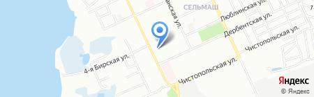 Магазин пиротехники на карте Челябинска