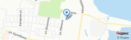 Средняя общеобразовательная школа №84 с дошкольным отделением на карте Челябинска