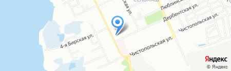 Южуралинструмент на карте Челябинска