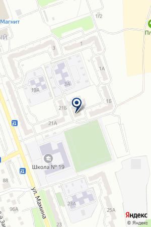 ПАРИКМАХЕРСКАЯ ИМПУЛЬС на карте Челябинска