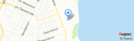 Детский сад №451 на карте Челябинска