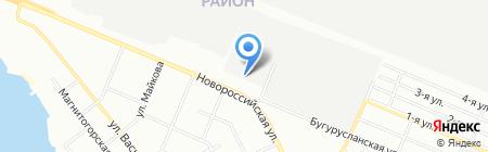 Уралтрубмаш на карте Челябинска