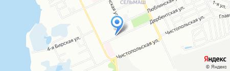 Уральская усадьба на карте Челябинска