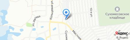 АЗС Башнефть на карте Челябинска