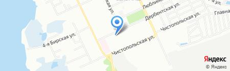 Фобос на карте Челябинска