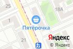 Схема проезда до компании Библиотека №24 в Челябинске