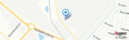 УралАвтоЗаз на карте Челябинска