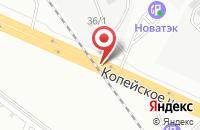 Схема проезда до компании Штамп в Челябинске