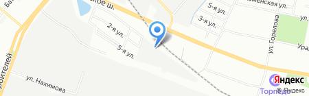 Арикон на карте Челябинска