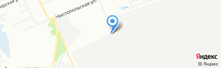 ЗОР Алеф на карте Челябинска