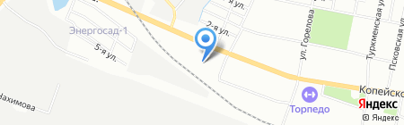КСТ на карте Челябинска