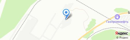 Химтек на карте Челябинска