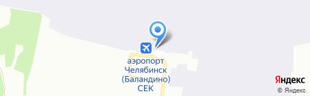 Банкомат Банк Финансовая Корпорация Открытие на карте Челябинска