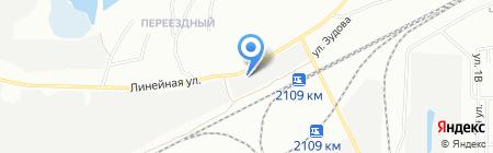 Ларгето на карте Челябинска