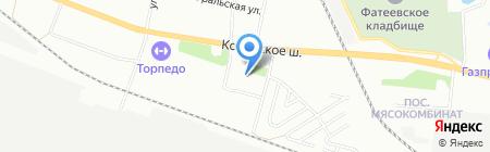 Продуктовый магазин на Трубосварочной 1-ой на карте Челябинска