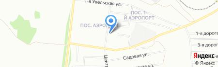 Ирис на карте Челябинска