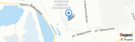 ЧУРИЛОВО Lake City на карте Челябинска