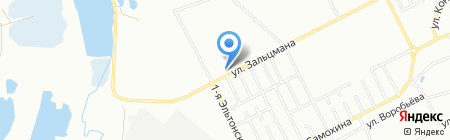 Долорес на карте Челябинска